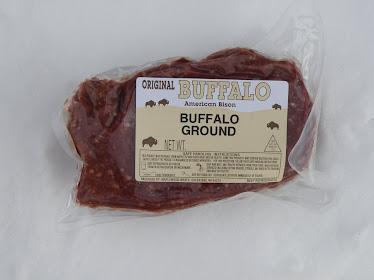 100% Grass Fed Bison Bulk Burger $8.00 lb.