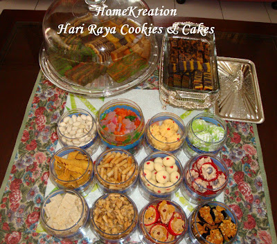 Hari Raya Cakes And Cookies Recipes
