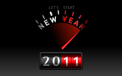 New year wallpapers 2011