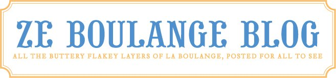 Ze Boulange Blog