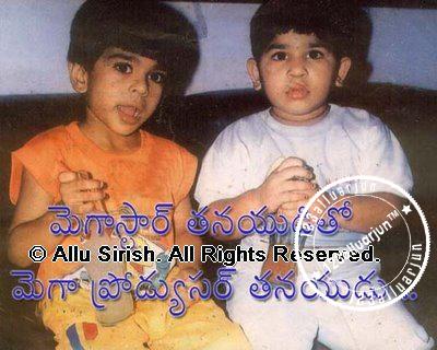 Allu Arjun Lovely Family Photos Rare Piczz A Fan Site