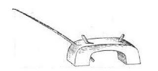 Рисунок удочки-кобылки для ловли рыбы на поплавочную удочку
