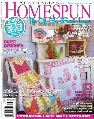 Australian Homespun Magazine Back Issues