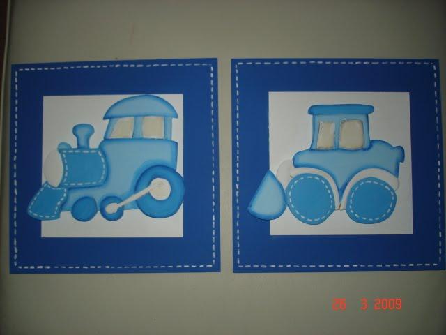 guarda medios de transporte azul
