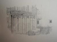 monasterio veruela, grabado, valeriano becquer