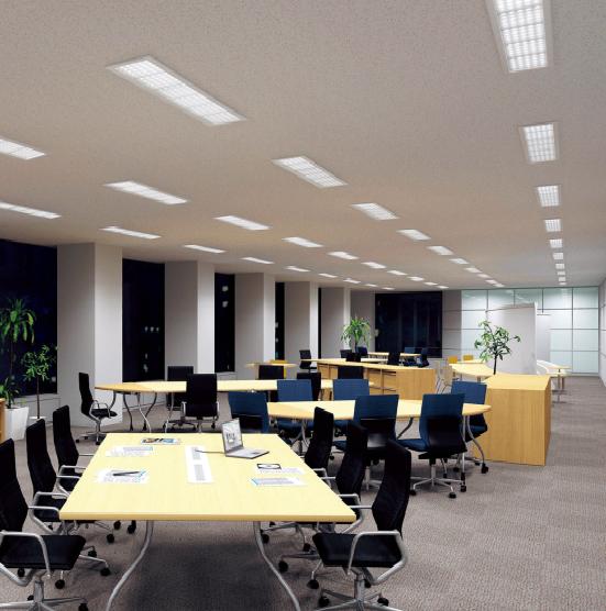 Jorge atk l mparas led para oficinas que sustituyen a los - Lamparas de oficina ...