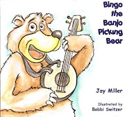 """""Bingo The Banjo Picking Bear"""
