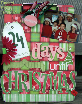 Christmas Countdown on Christmas Countdown Clipboard Jpg