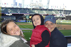 The kids' first trip to Safeco Field.  2008