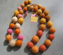 Perlas con los colores del sol...