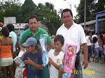 """""""PRMRFFS """" Realizo una chocolatada y entrega de juguetes en la comunidad de San jose de Lupuna"""