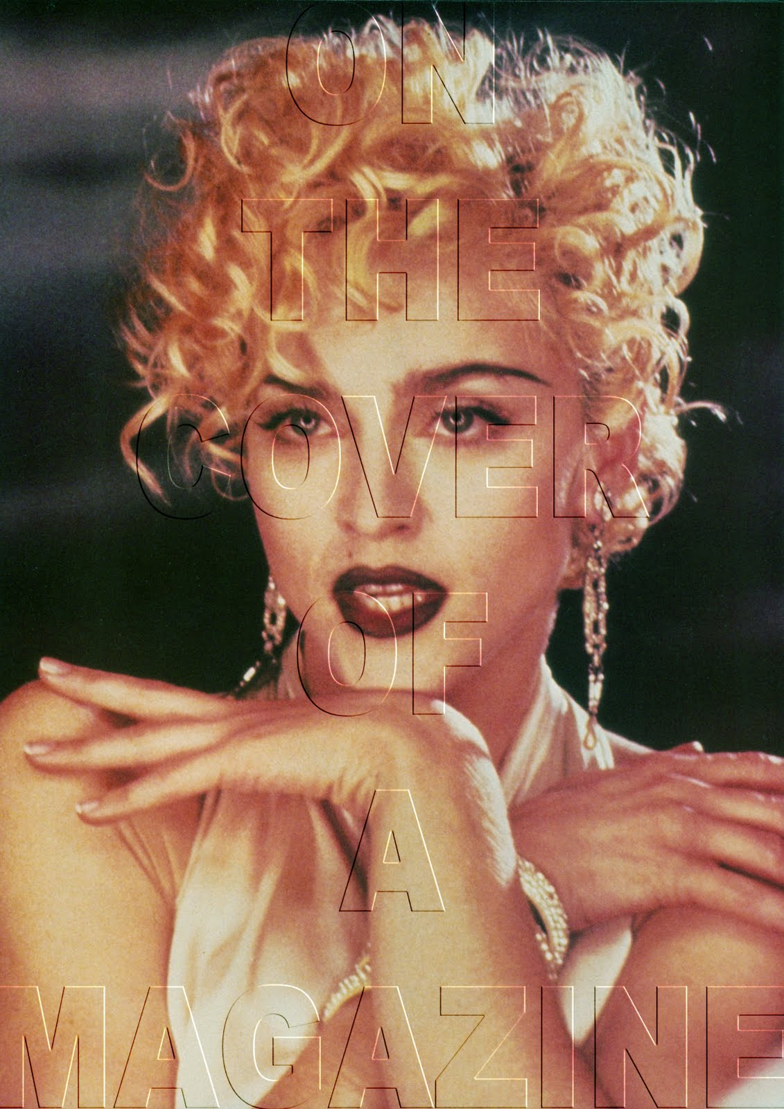 1990 Vogue Video Still Photographed by Lorraine Day
