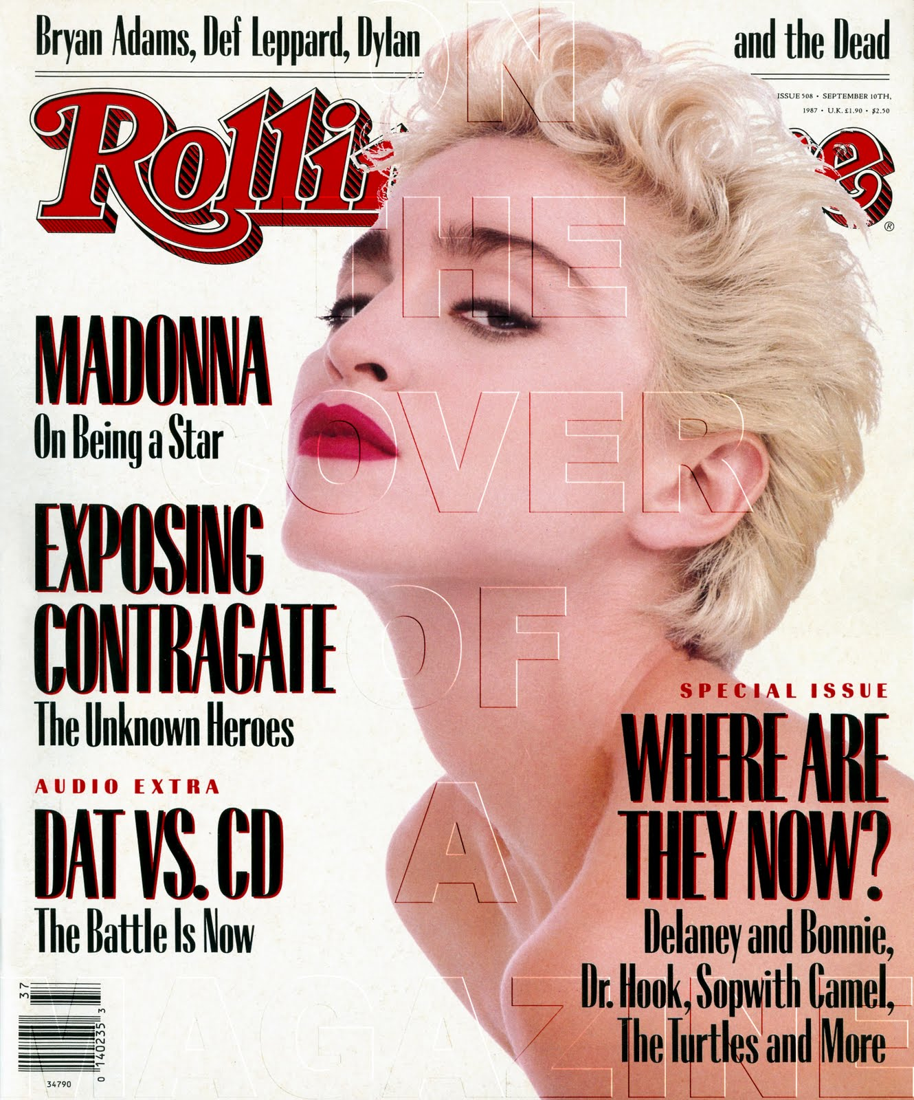 Rolling Stone Magazine Covers