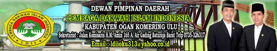 DEWAN PIMPINAN DAERAH (DPD) LEMBAGA DAKWAH ISLAM INDONESIA (LDII)  KAB. OGAN KOMERING ULU
