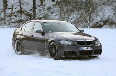 BMW 320d Winter Concept