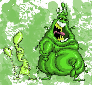 King snot and the booger brigade