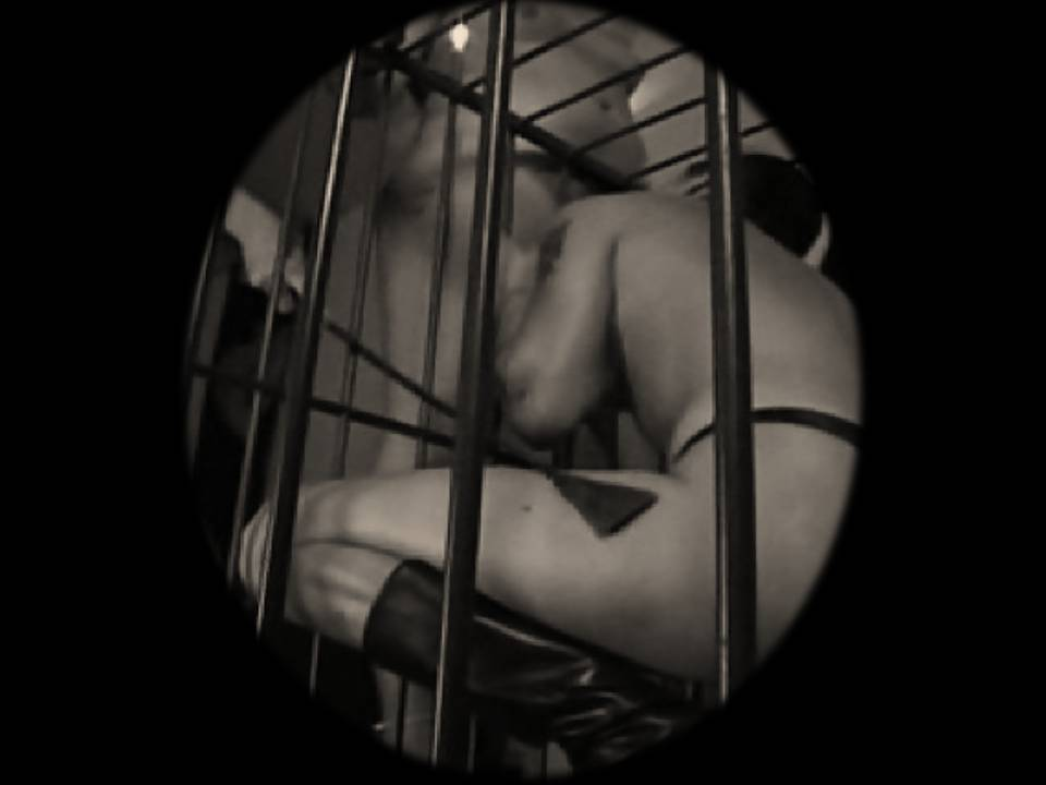 caged cuckold