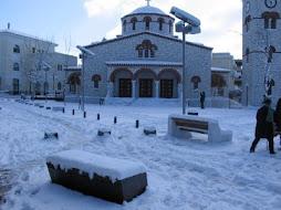 πλατεία Αναλήψεως χειμώνας 2007