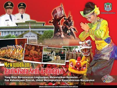 Judul : Baliho Pariwisata Kota Binjai