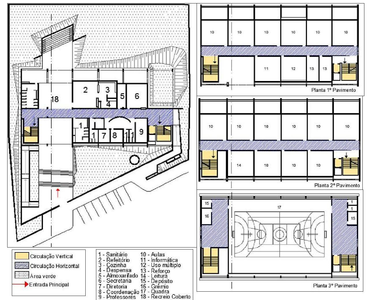 Arquitetura: Leitura de projeto FDE #AF931C 1280 1040