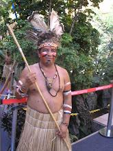 Ìndio da aldeia Icatú.