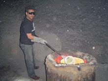 Fundido o Metal para as esculturas desenvolvidas nas ofícinas do CUCA Salvador BA.