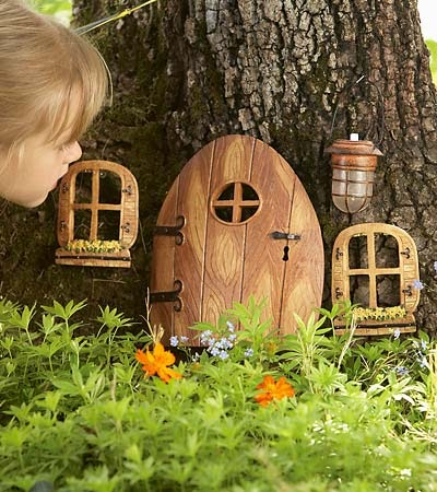 Party love fairy ideas for Idea behind fairy doors