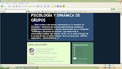 HAGA CLICK AQUÍ PARA IR AL BLOG DEL POSTGRADO EN PSICOLOGIA Y DINAMICA DE GRUPOS