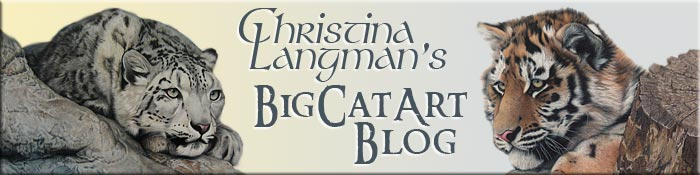 Christina Langman's BigCatArt Blog