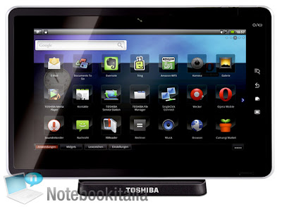 NEW TABLET ANDROID TOSHIBA FOLIO 100
