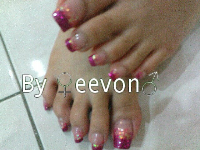 Gorgeous nails toe acrylic nail extension if ur toe finger nails are not pretty at all u can do nail extension too make yourself more confident solutioingenieria