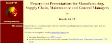 ERP, Supply Chain, Manufacturing Presentations