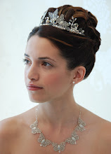 Butterfly Wedding Jewellery by Carrie Yeo