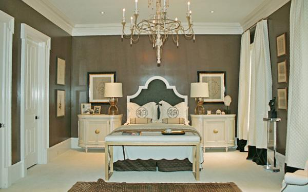 Old Hollywood Regency Style Master Suite