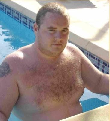 Short chubby man