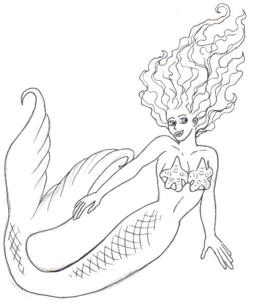 Drawing Mermaids For Kids