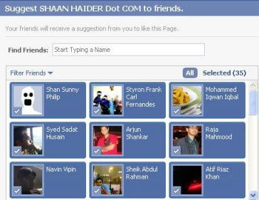 Invite Your All Facebook Friends To Like A Fan Page By Google Chrome Extension