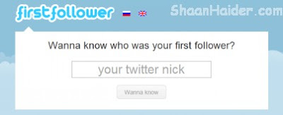 HOW TO : Know Your First Twitter Follower