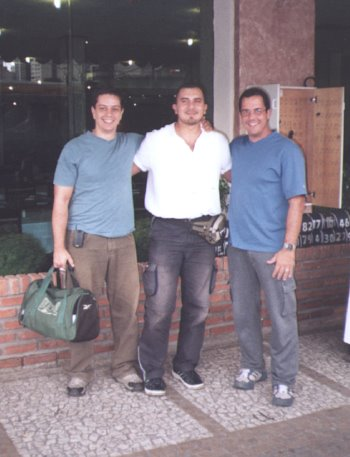 de izq a der. Mtro.Luciano Gonçalves, Prof. Rene Olmedo y Mtro. Luis Miele.