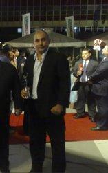 """Prof. Rene Olmedo. Premiado como """"Deportista del año en Kick Boxing 2.008"""""""