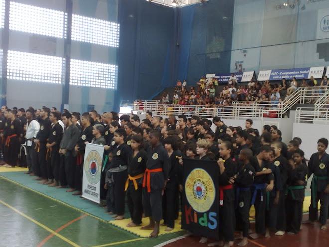 Vista panoramica Torneo Hapkido Bahia 2.008