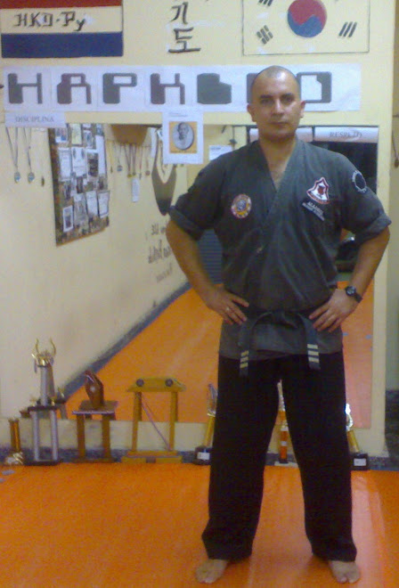 Director Academia Dragon Hapkido. Central
