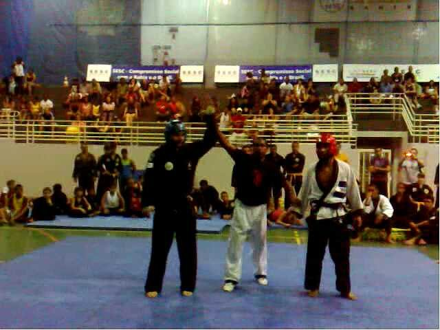 Lucha Hapkido-Prof. Rene Olmedo (izq) Salvador Bahia-Brasil