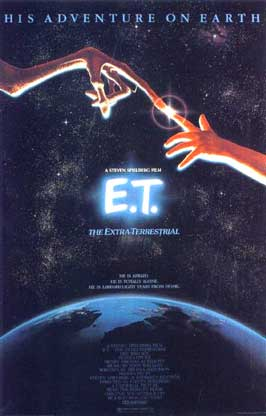 Not Just Movies Steven Spielberg E T The Extra Terrestrial