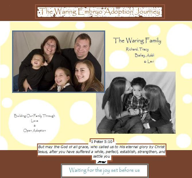 The Waring's Journey