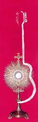 Escute a Rádio Católica (Clique na imagem de Jesus Eucarístico.)