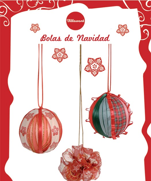 El blog de dmc tutorial para hacer bolas de navidad con - Hacer bolas de navidad ...