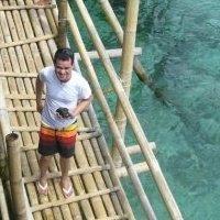 Ang babae sa ibabaw ng tulay