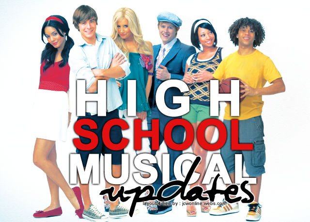 High School Musical Updates!