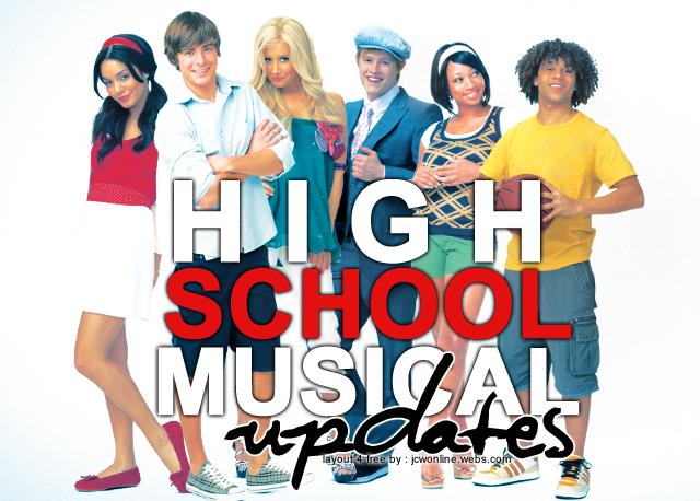 High School Musical Updates!